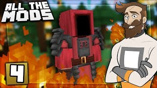 All The Mods #4 - FOREST FIRE!