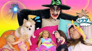 A BRUXA ROUBOU MINHAS BONECAS (BABY ALIVE, LOL, AMERICAN GIRL) THE WITCH STOLEN MY DOLLS