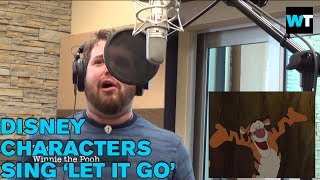 Let it Go Cover in Disney and Pixar Voices | What's Trending Now