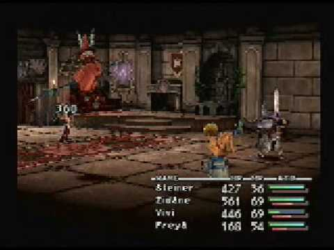 FFIX - General Beatrix, Third Encounter and Bandersnatch