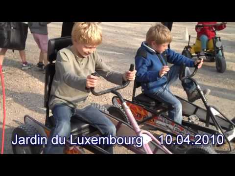 Jardin du Luxembourg top attraction in france   Travel video   World travel   Beautiful Place