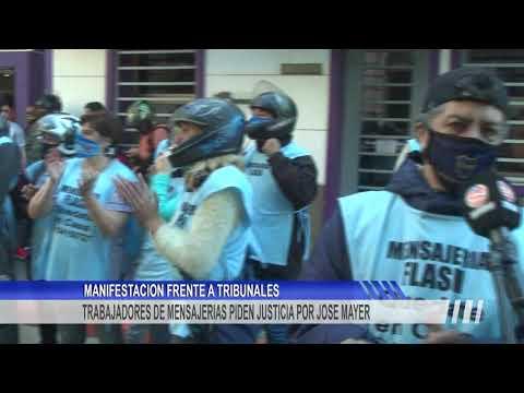 Nueva movilización multitudinaria de motomandados en pedido de justicia por José Mayer