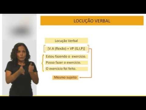 Português para concursos públicos - Locução Verbal