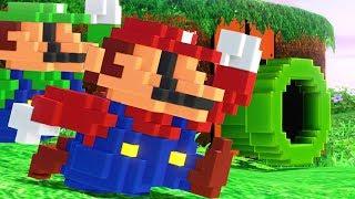Super Mario Odyssey - 8-Bit Mario Outfit (DLC Showcase)