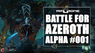 WILLKOMMEN in DRUSTVAR - WoW Battle for Azeroth Alpha Let's Play #001 [Deutsch]