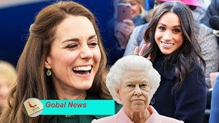 Kate's jealous because Meghan Markle has quality time on the 'future QUEEN' ,while she 'MISSING'