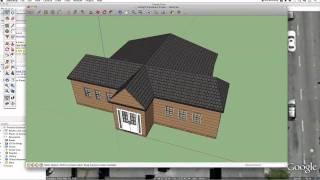 Google Sketchup House Tutorial