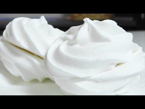 Зефир ванильный без яиц видео рецепт