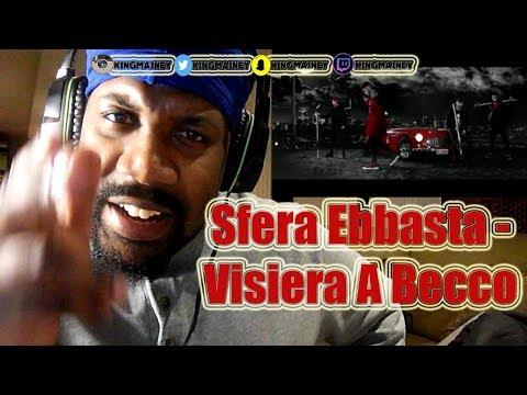 (FIRST ITALIAN REACTION)Sfera Ebbasta - Visiera A Becco (Prod. Charlie Charles) REACTION!!