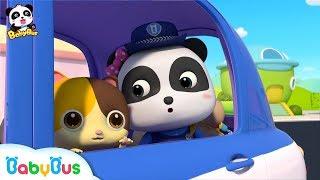 Baby Panda Policeman | Super Panda's New Mission | Kids Role Play | BabyBus
