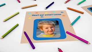 Kids Photo Album Slideshow | After Effects template