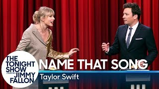 Name That Song Challenge with Taylor Swift
