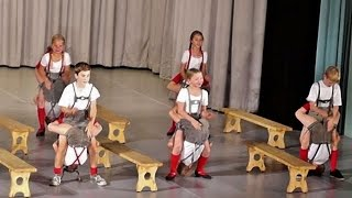 Traditional German Dance - Bavarian Folk Dance