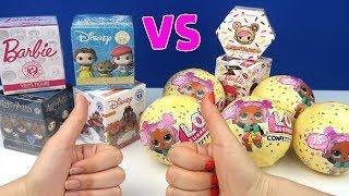 LOL Confetti Pop vs Sürpriz Disney Oyuncak Kutusu Challenge Oyuncak Eğlenceli Video Bidünya Oyuncak