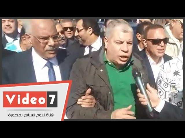 بالفيديو..شوبير: مصر فى محنة وسوف تنتصر فى النهاية لانه الأقوى