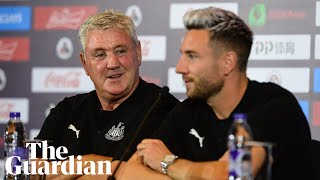 Steve Bruce says he is not 'everyone's cup of tea' at first Newcastle press conference