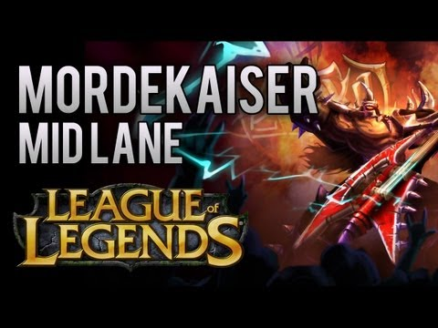 Mordekaiser Mid Lane (How To Play AP Mordekaiser) - League of Legends