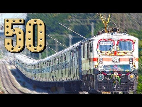 GOLDEN JUBILEE TRAIN : Indian Railways BRINDAVAN Express 50 Years