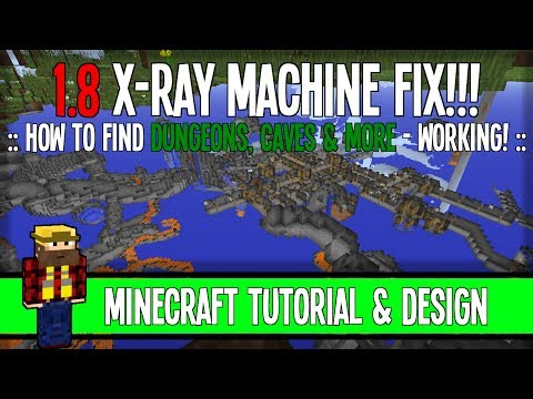 1.8 X-Ray Machine Fix - Minecraft [WORKING!]