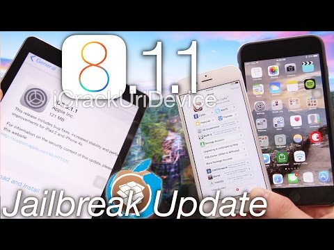 iOS 8.1.1 Jailbreak iOS 8 Update. Release Patches Pangu iOS 8.1 iPhone 6 Plus. iPad Jailbreak & More