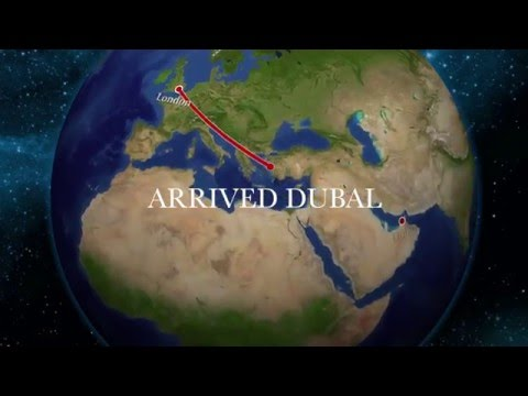 Emirates A380 Business Class London to Dubai Air Review