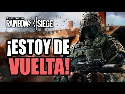 RAINBOW SIX SIEGE | ¡ESTOY DE VUELTA! ¡SIGO VIVO! - GAMEPLAY ESPAÑOL | DRID