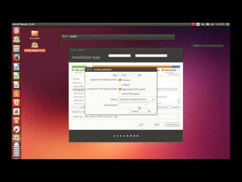 Instalar ubuntu 13.10 junto a windows y como particionar