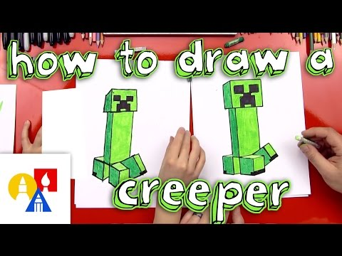How To Draw A Creeper (New)