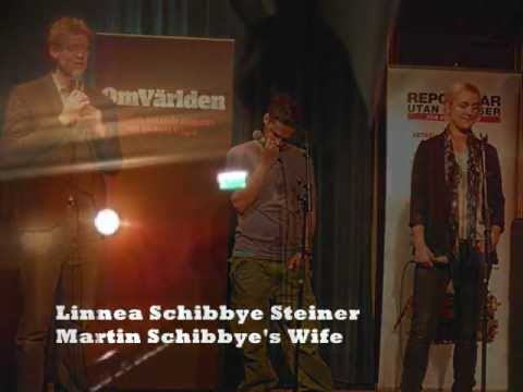 ''Silent Diplomacy is Frustrating'' - Linnea Schibbye, Martin's Wife.