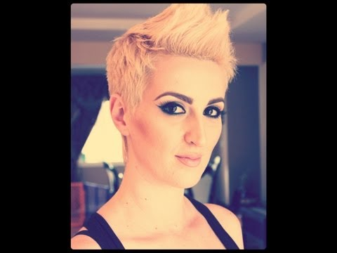 Pink Inspired Haircut Tutorial Music Videos