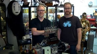 Inside Adam Savage's Cave_ Geeking Out about Bits and Bytes