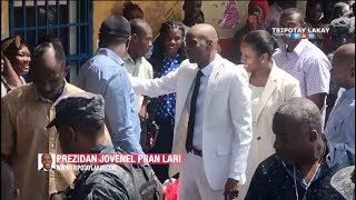VIDEO: President Jovenel Moise nan lari PetionVille Jounen Jeudi 3 Octobre 2019 la
