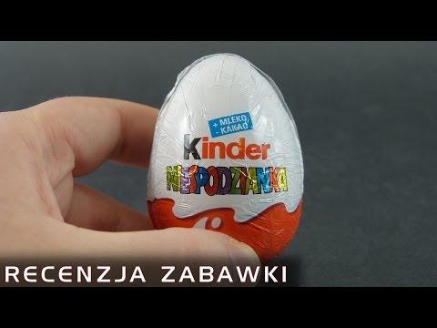 Tajemnicza Kinder Niespodzianka - polska recenzja na głodniaka