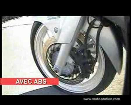 TEST ABS HONDA