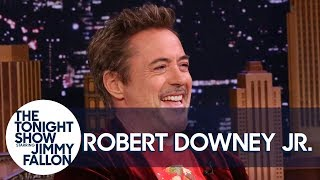 Robert Downey Jr. and Jimmy Embarrass Themselves with Unaired SNL Sketch Stories