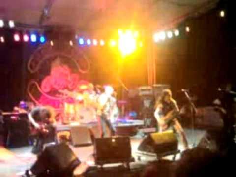 Ufo-Rock Bottom Vinnie Moore solo(pt.1) Live In Cercemaggiore 9°Baloma Bikers festival