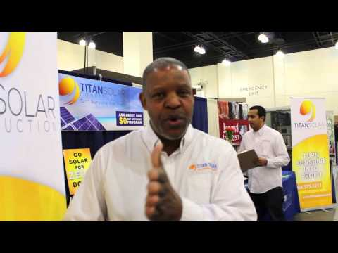 Titan Solar at the Pasadena Solar Green Energy Expo 2015