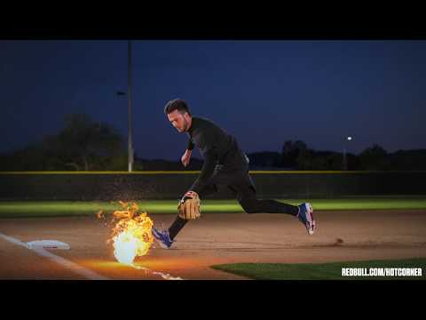 Watch Cubs' Kris Bryant Field Literal Fireballs At Third Base | ESPN