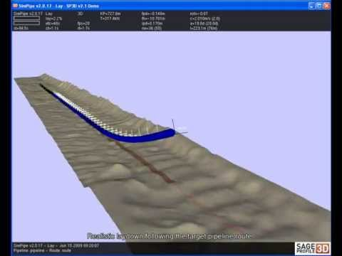 SAGE Profile 3D - Subsea Pipeline Analysis Software
