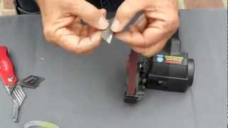 Utility Knife Sharpening using the Work Sharp Knife Sharpener