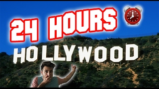 (COPS!) 24 HOUR OVERNIGHT at HOLLYWOOD SIGN GONE WRONG | SNEAKING INTO THE HOLLYWOOD SIGN OVERNIGHT