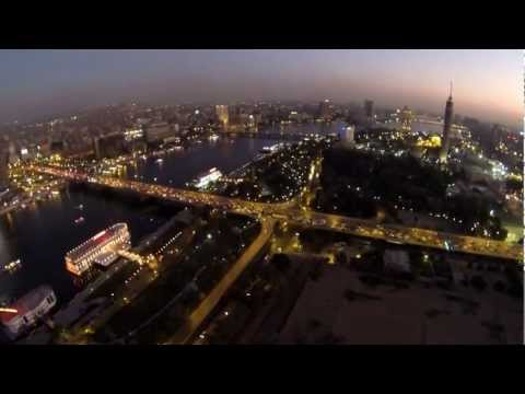 Beautiful Cairo, Egypt - Fly Up High - Phantom