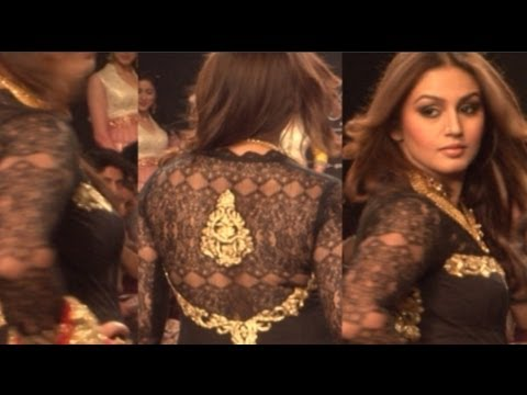 Huma Qureshi Busty Anarkali Dress video