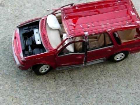Cars Crashing Crashed Toy Car
