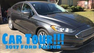 Car Tour!! 2017 Ford Fusion SE!