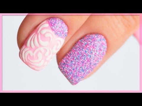 Меланж на ногтях