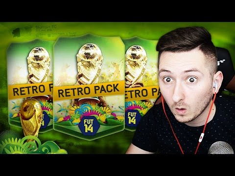 Fifa 14 World Cup | Retro Pack Opening