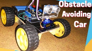 How To Make Obstacle Avoiding Car using Arduino