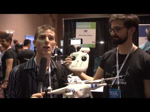 DJI Phantom 2 Vision High Performance 1080p Quadrocopter - CES 2014