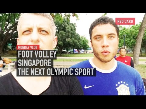 FOOT VOLLEY SINGAPORE. THE NEXT OLYMPIC SPORT